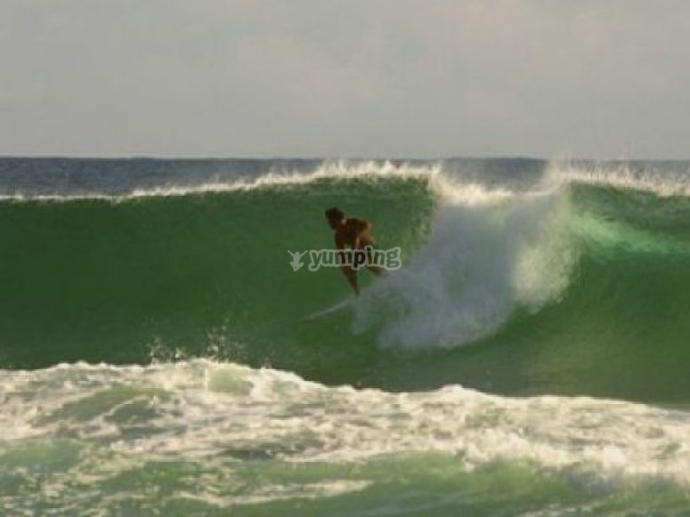 Cours collectif intensif de surf