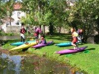 cours de canoe kayak