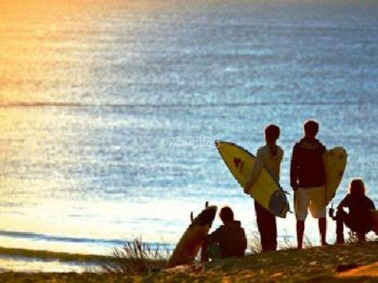 demi journee de surf entre ados