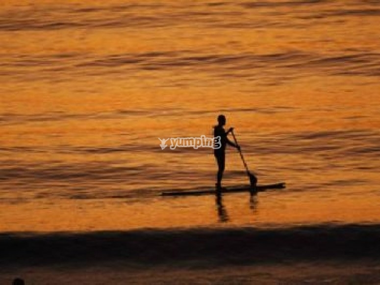 Stand up paddle a Seignosse