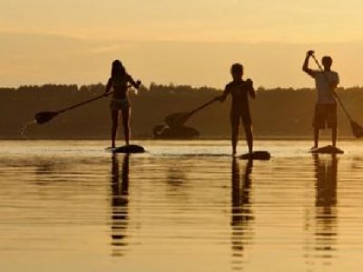 Paddle Surf - Etang Blanc Seignosse