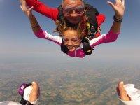 Sauter en tandem avec Fred-Parachutisme