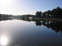 Lac privé Le plan d´eau