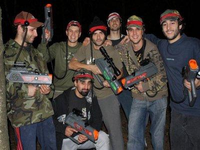 Combat laser Col d'Ibardin Urrugne - 2h