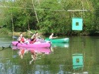 Club canoe kayak sur le Clain