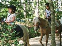 Balade en poney enfant