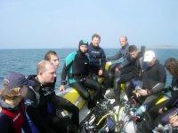 En avant pour l aventure plongee