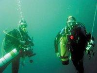 Plongeurs en Bretagne