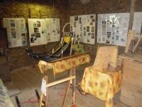 Vue partielle de l expo qui nous sert de support dans le cadre des visites pour raconter l histoire des chiens de traineaux