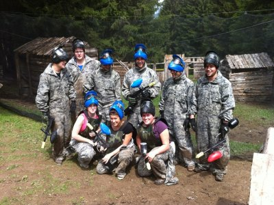 Partie Paintball + de 15 ans