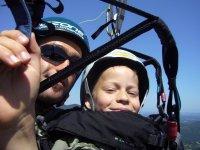 Bapteme de l air avec Parapente Family pour les plus petits