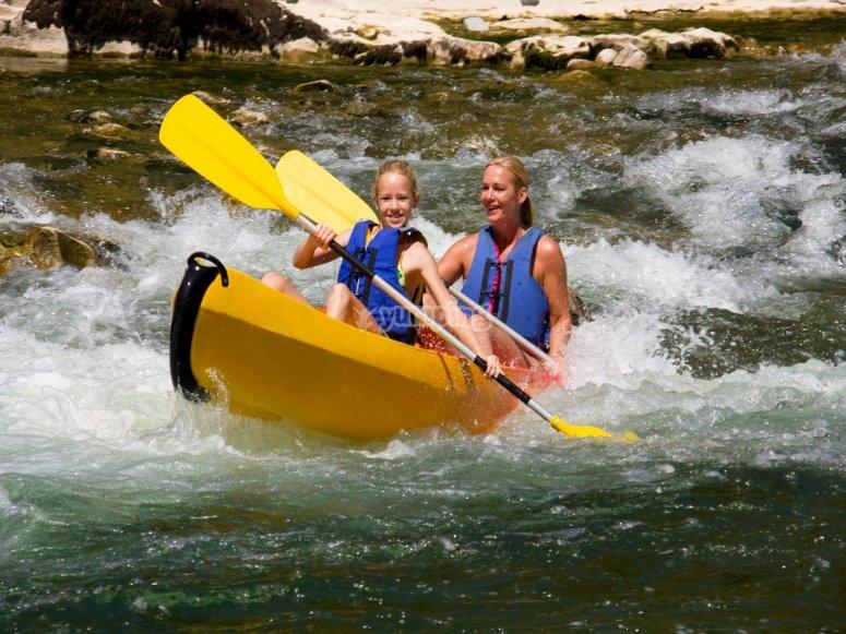 Descente canoe sur le Loing