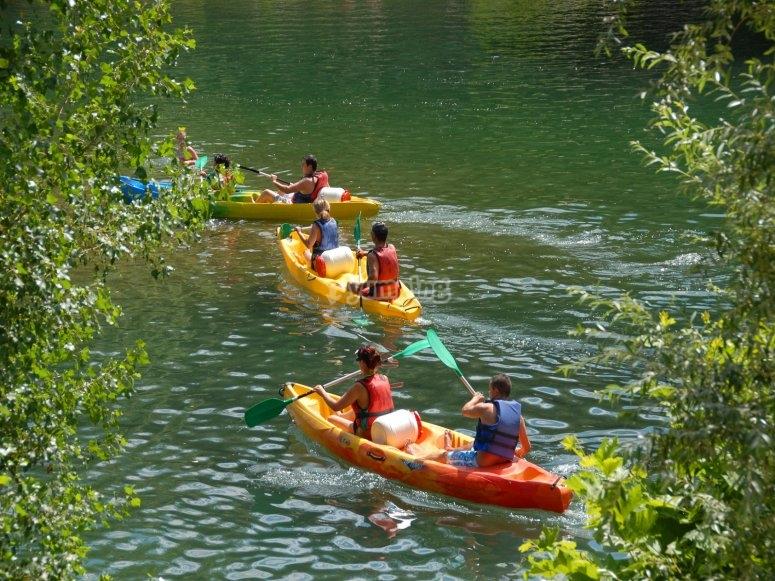 Canoe sur le Loing