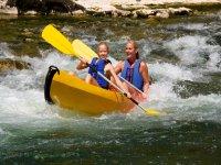 Parcours 9km en canoe