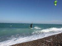 Kite surf bord de mer