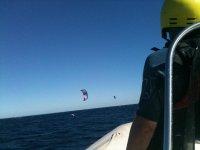 kite surf bateau