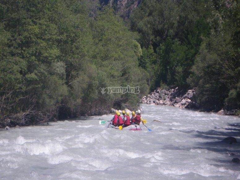 Rafting Veneon