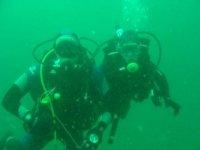 Plongeurs en vue