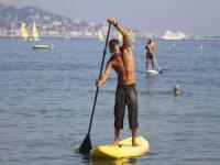 Balade en Paddle Surf