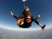 Moments magiques en parachute