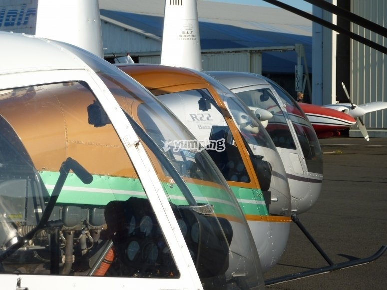 Decouverte de l helicoptère