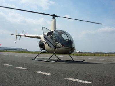 Pilotez un hélicoptère en Baie de Seine