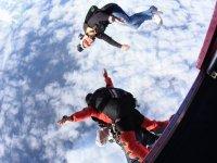 Saut en parachute tandem pres de Toulouse