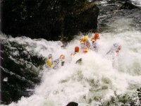 Attention aux courants d eau en rafting