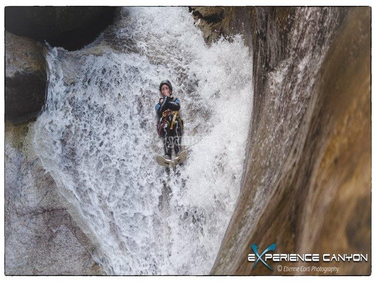 Decouverte canyoning dans les Pyrénées