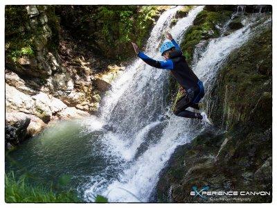Canyoning demi-journée Vallée d'Ossau