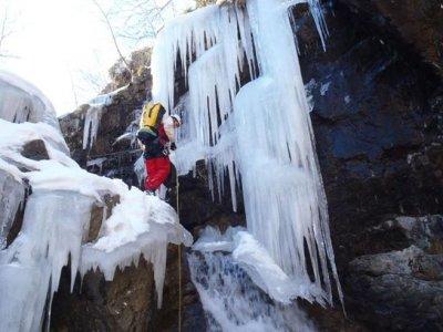 Journée découverte Ice Canyoning
