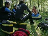 Initiation nage en eau vive