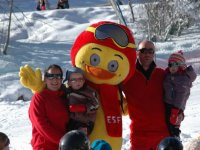 Enfants au club de ski ESF