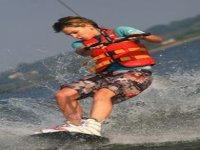 Plaisir du wakeboard