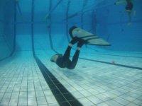 Entrainement en piscine