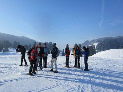 Club Alpin de Nancy Raquettes à Neige