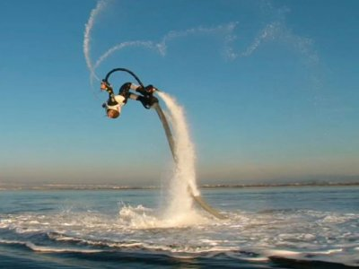 A Quad Jet Pro Flyboard