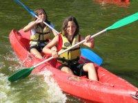 Canoe en famille a Soustons
