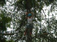 Parcours acrobatique en hauteur a Soustons
