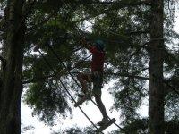 Parcours aventure enfant et adulte dans les Landes
