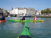 Kayak de mer a La Rochelle