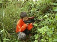 Laser tag dans la nature