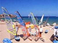 Planche a voile en Corse