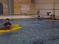 Entrainement kayak en piscine avec le club