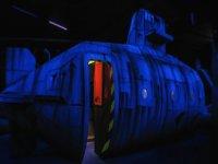 Decor de sous marin du labyrinthe du 201 Forest Avenue
