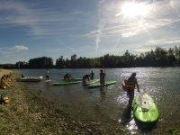 Prestation de paddle surf en Val de Garonne