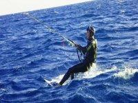 Kite Surf incliné