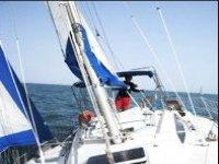 voilier mer agitée