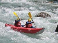 Canoe Raft ou hot dog en Savoie
