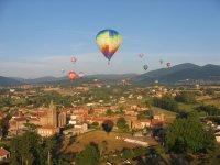 Vol en montgolfiere en couple en famille ou entre amis